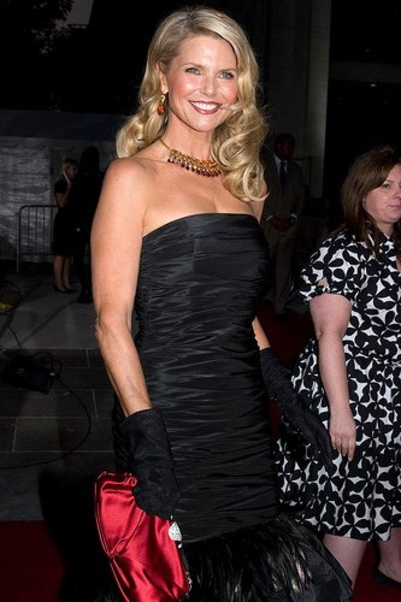 Christie Brinkley with shockingly long locks at  57 years old!