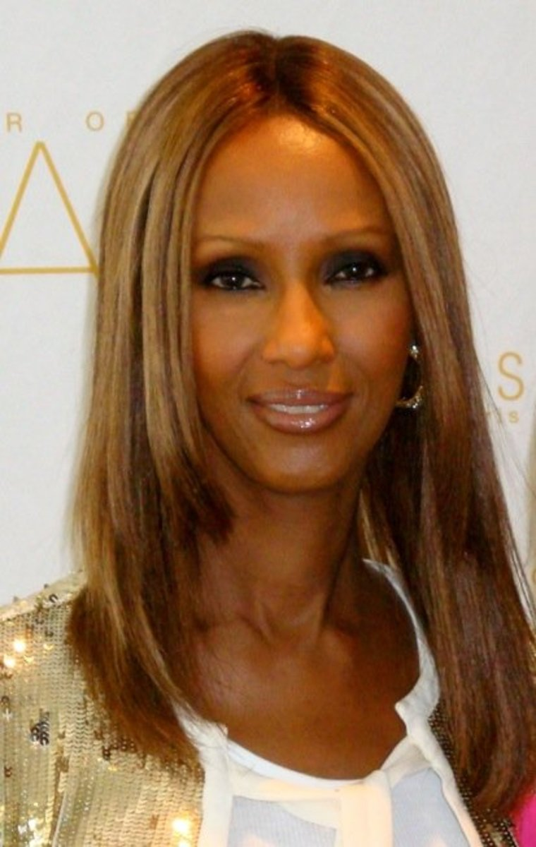 Iman is entirely too beautiful at 63.
