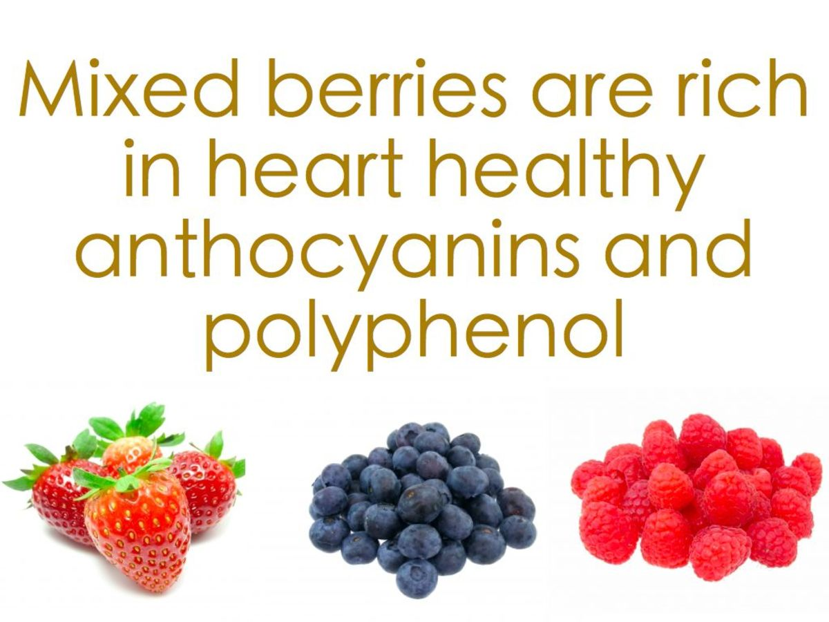 Mixed berries can lower blood pressure.