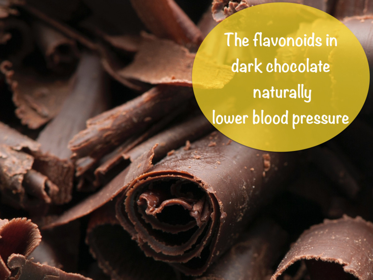 Fact: According to the Journal of American Medicine (JAMA), eating half an ounce of dark chocolate every day may help lower blood pressure.