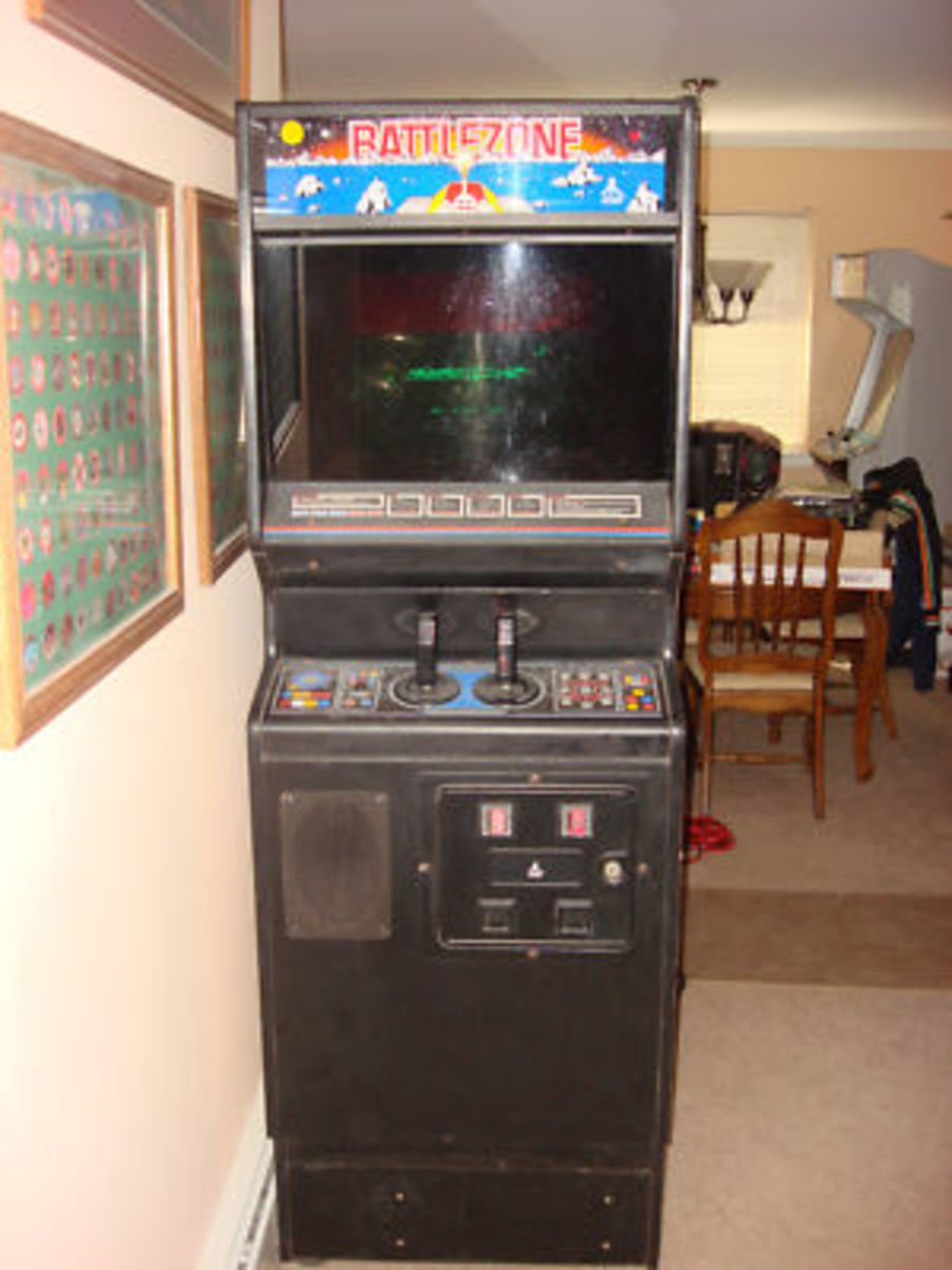 A Version Of The Battlezone Cabinet