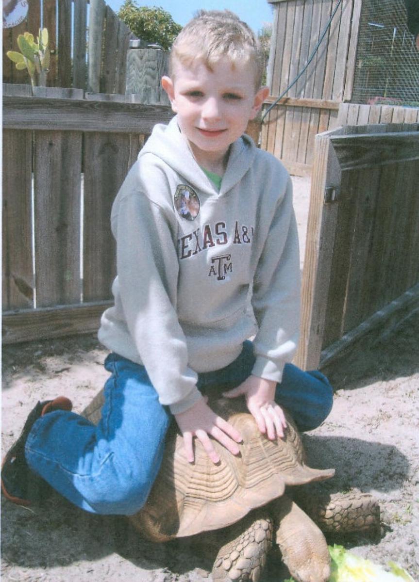 8 year old Texas Johnson.