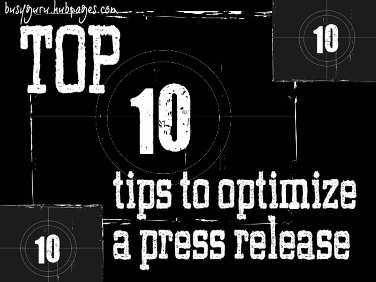 How to Optimize a Press Release