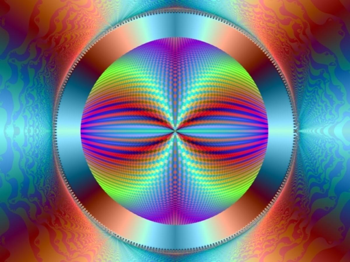 """""""FRACTAL VISIONARY DIGITAL ART 02"""" BY JACK HAAS"""