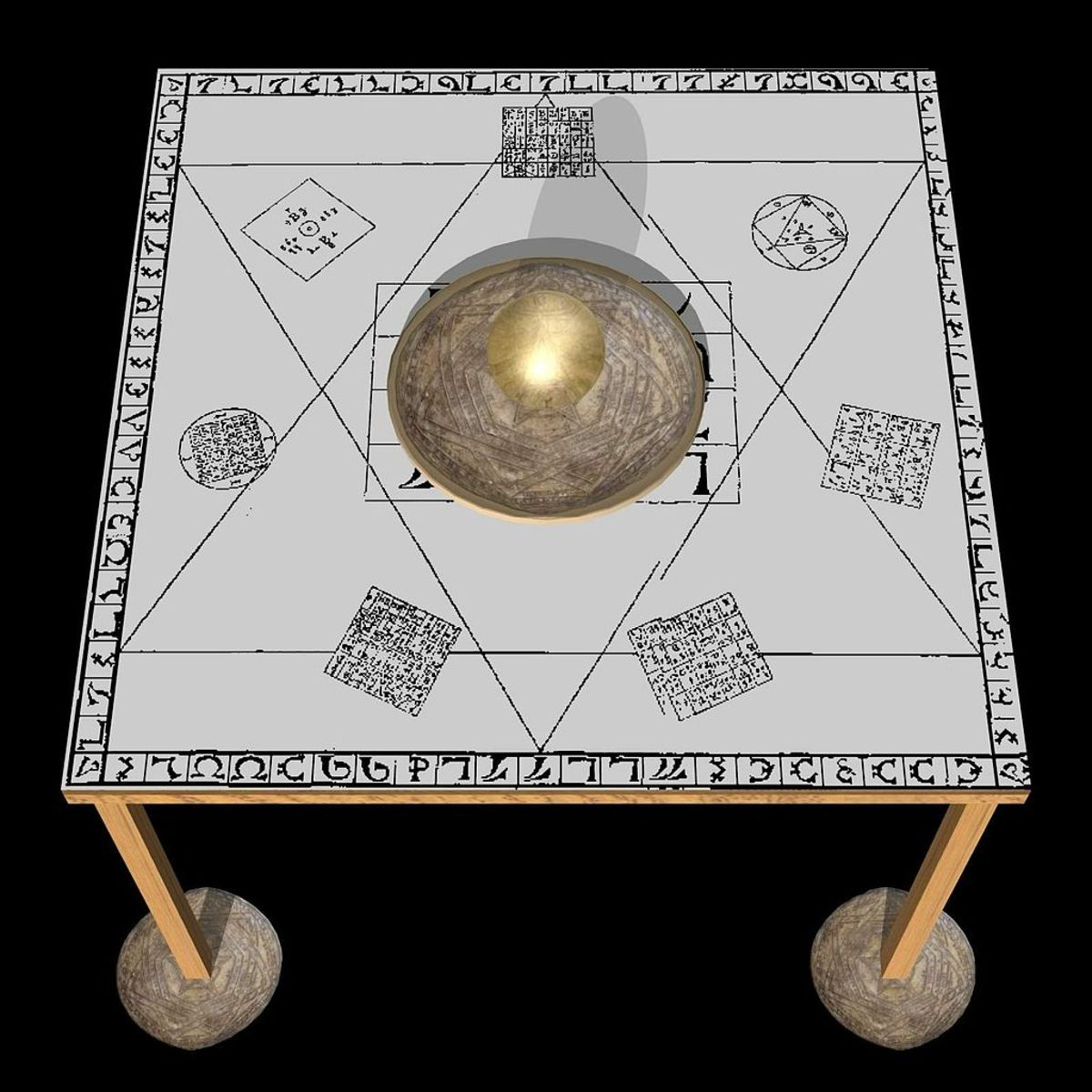 THE HOLY TABLE OF THE OCCULT