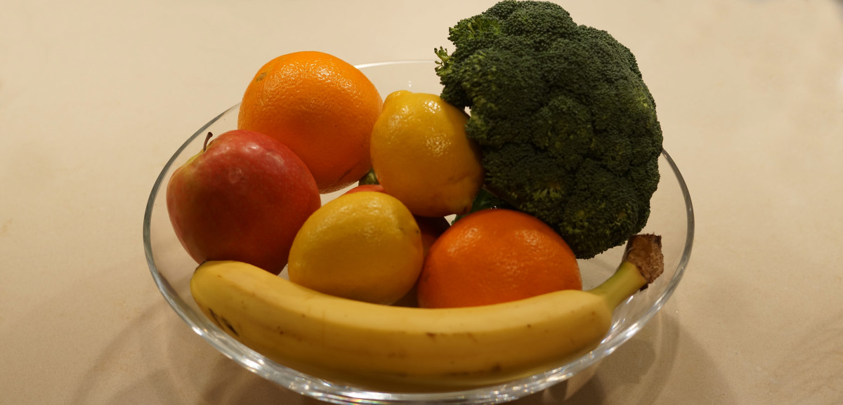 A diet full of fruits and leafy green vegetables will help with immune and liver function.