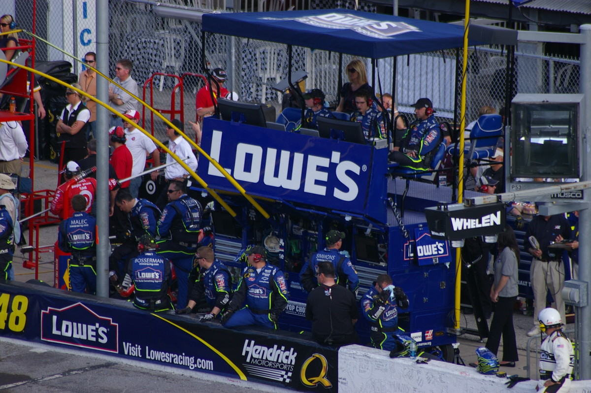 What really goes on in the pits?