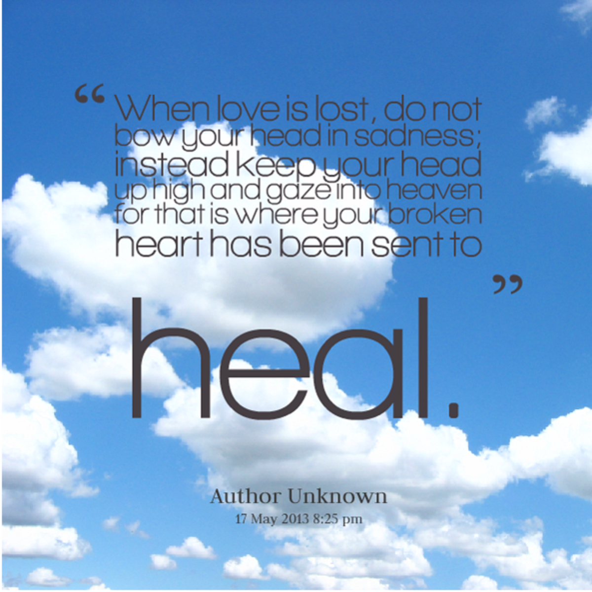 Agree, the how to heal a broken heart quotes