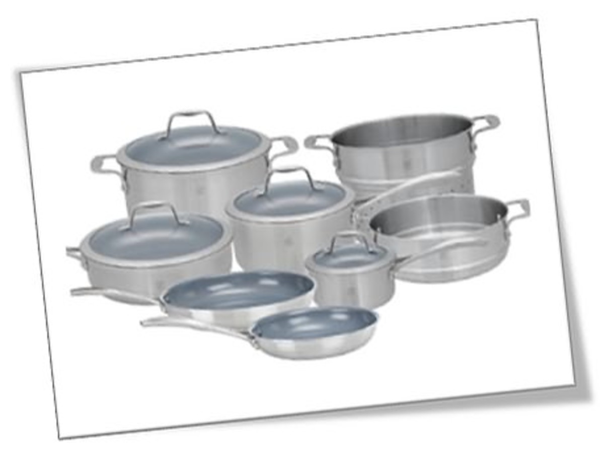 JA Henckel Spirit 10-Piece Thermolon Nonstick cookware set