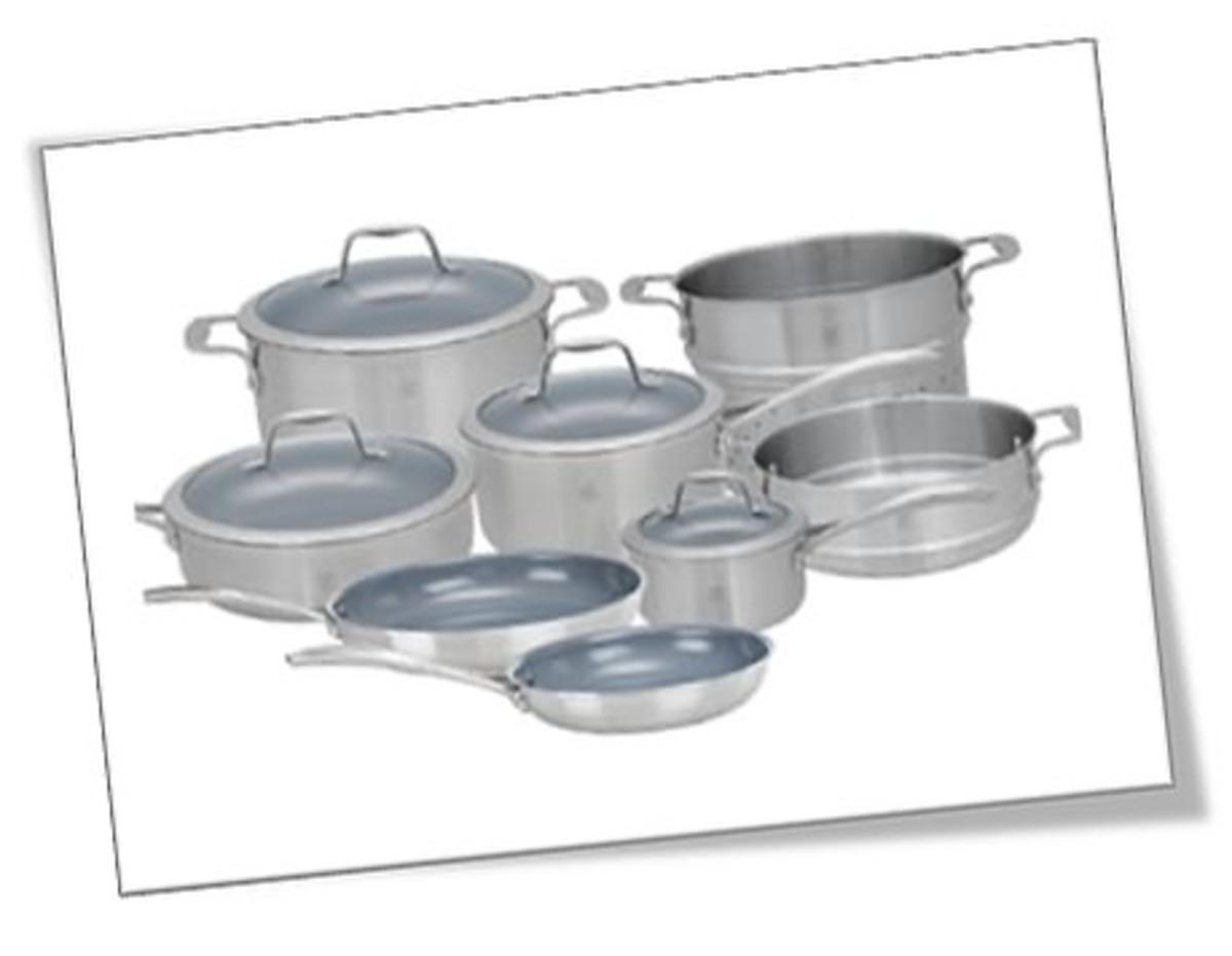 JA Henckel Spirit 10-Piece Thermolon Nonstick cookware set