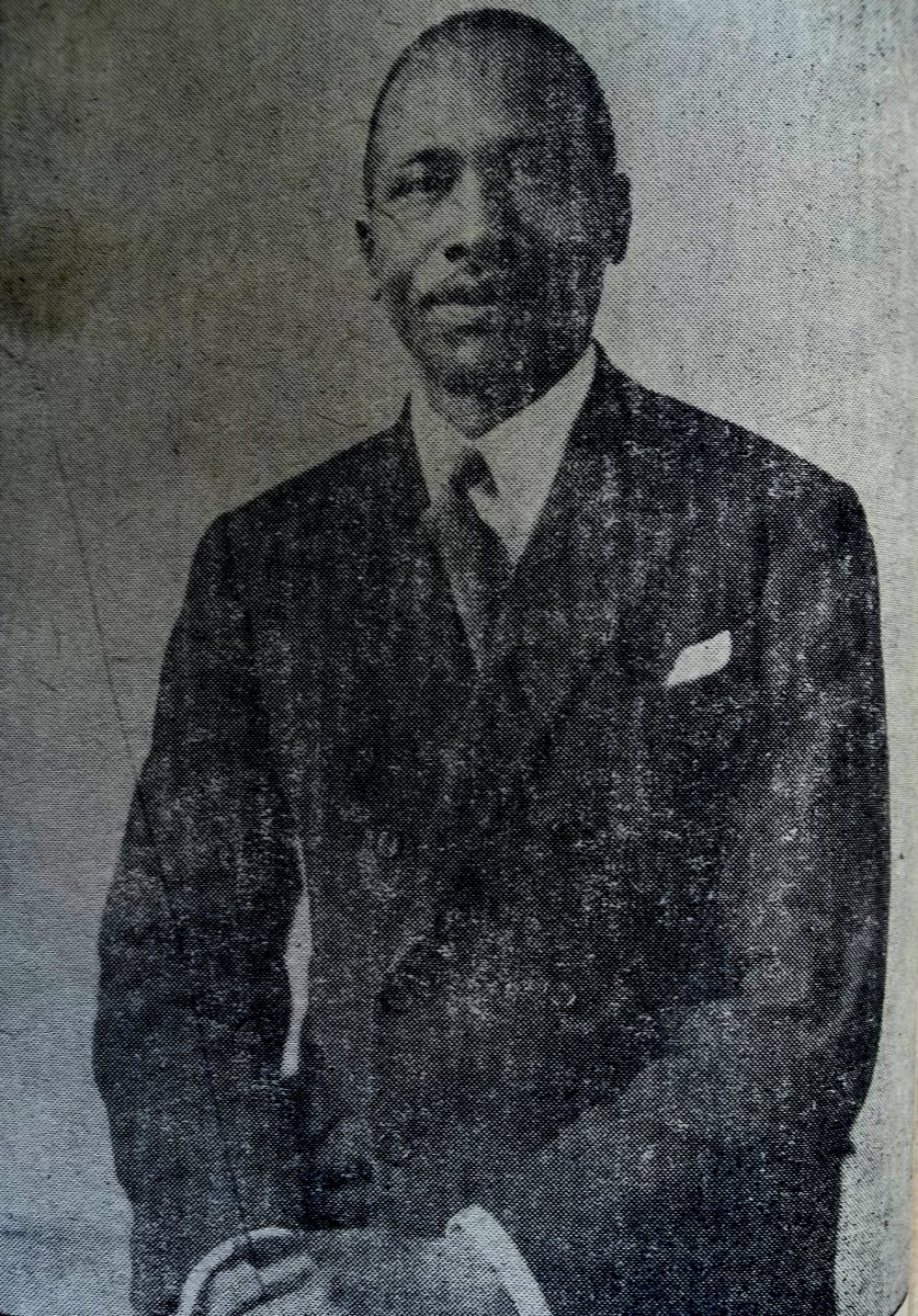 A suave Kenyatta in 1934 as a student of the London School of Economics