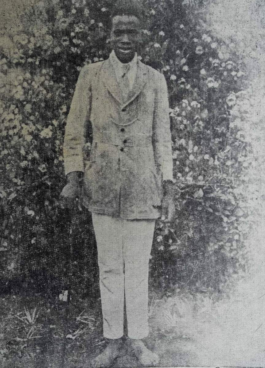 in 1910, Kenyatta went to the Church of Scotland Mission in search of education