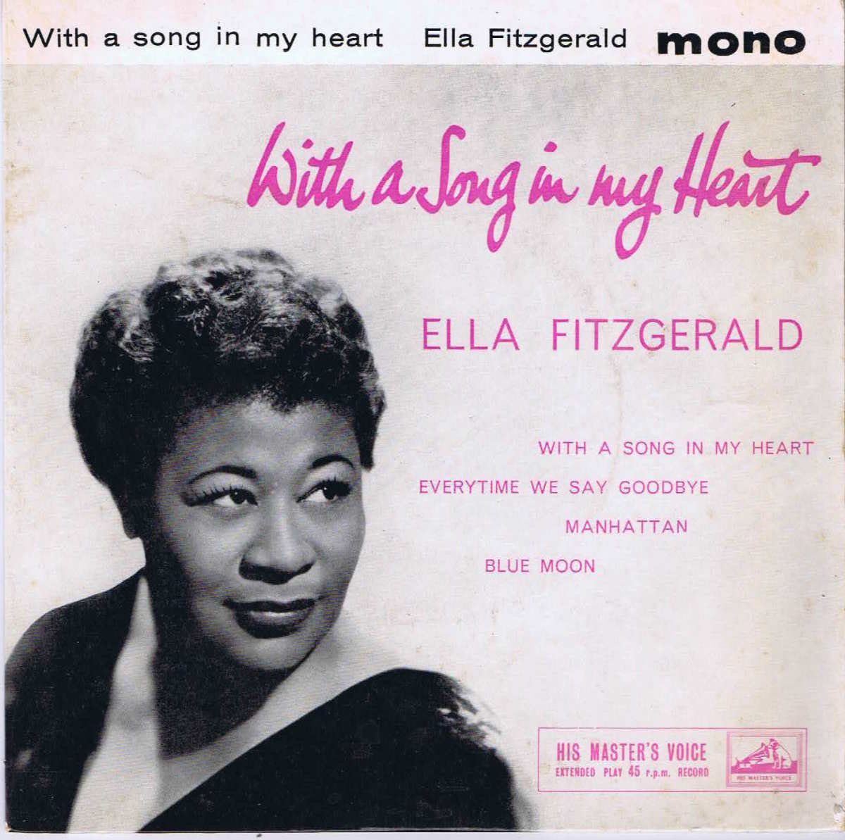 """Manhattan"" by Ella Fitzgerald"