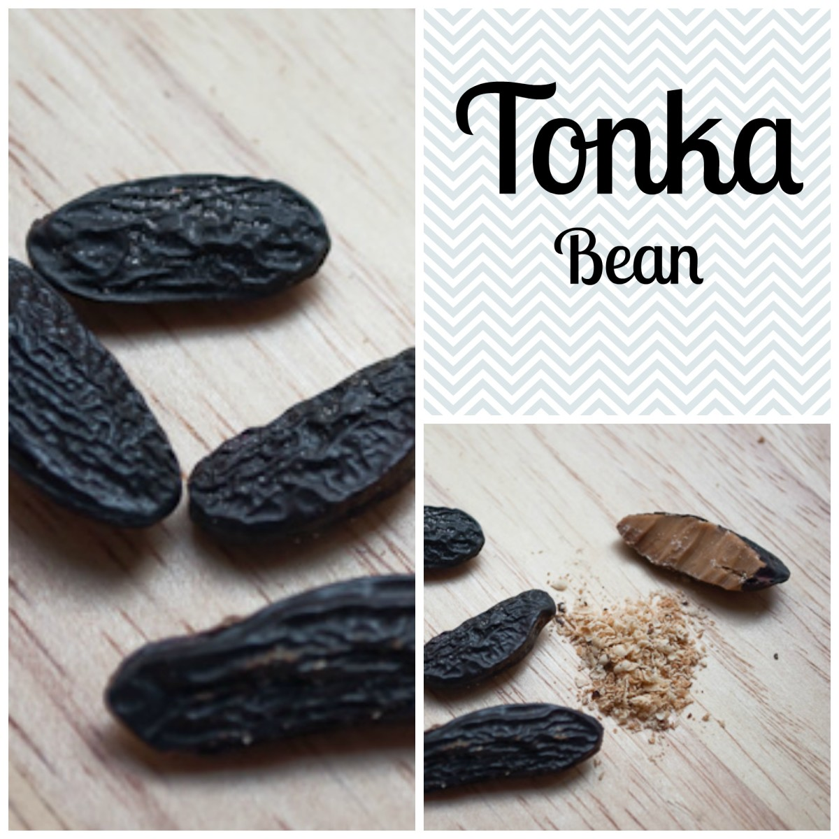 The Tonka bean is used in the food, perfumery, cosmetics and tobacco industry. Also used in traditional medicine for its antiseptic, expectorant properties. (Image edited by healthmunsta.)