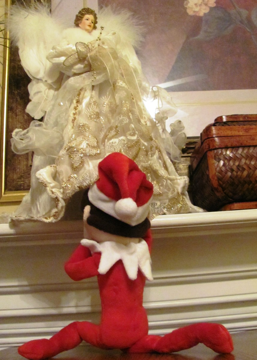 You just know Mrs. Claus is going to have something to say about this.