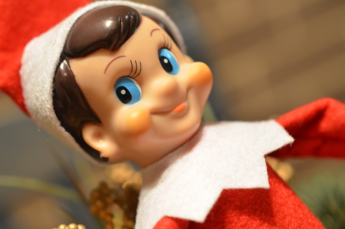 Elf On the Shelf Holiday Helper:  9 Christmas Gift Ideas For Naughty Boys and Girls
