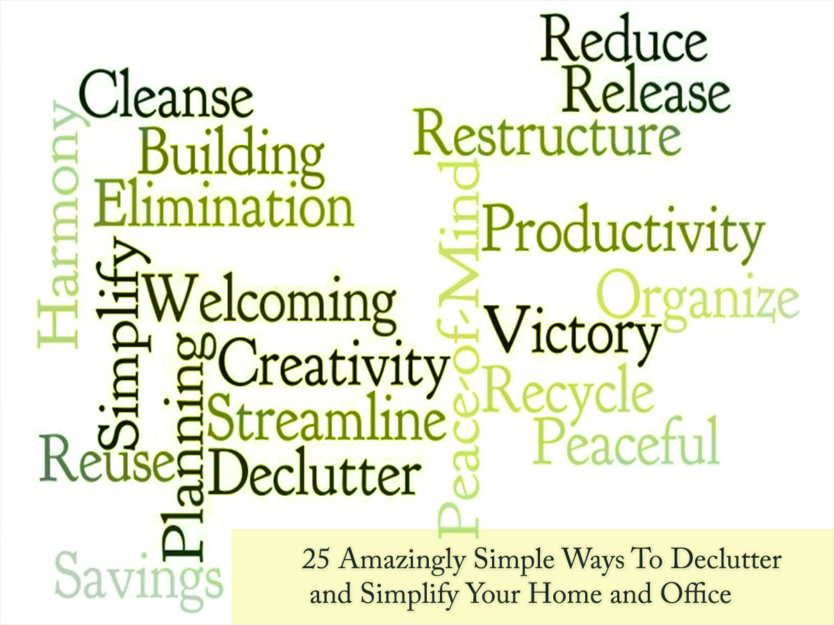 25 Organizing and Decluttering Tips to Simplify Your Life