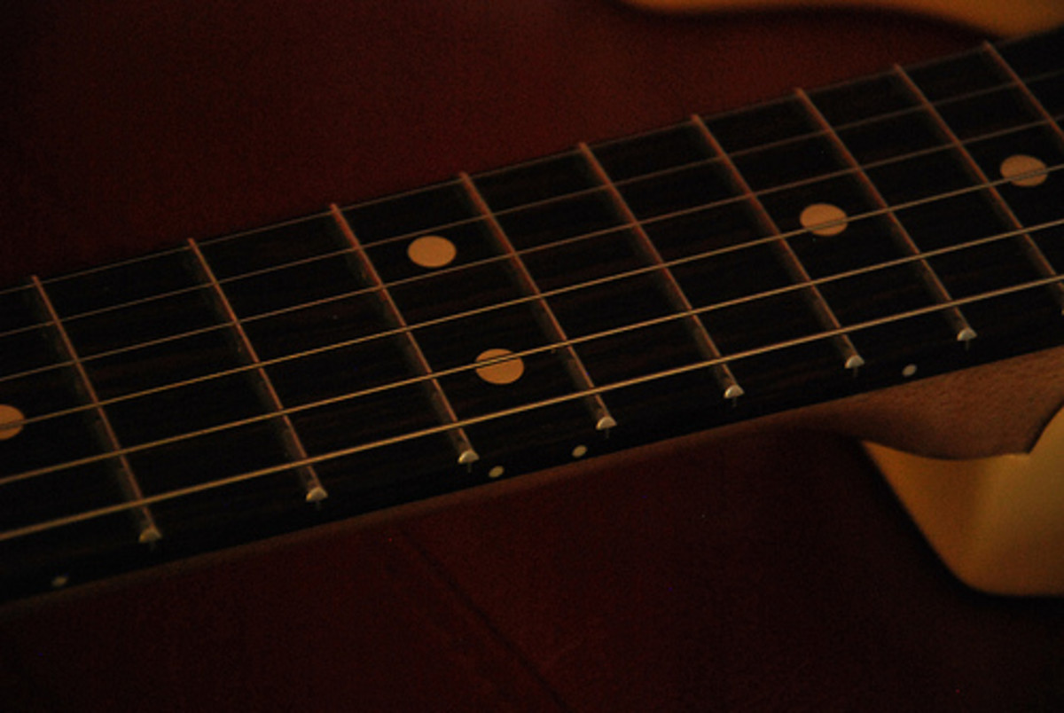 Fender Stratocaster with a rosewood fretboard