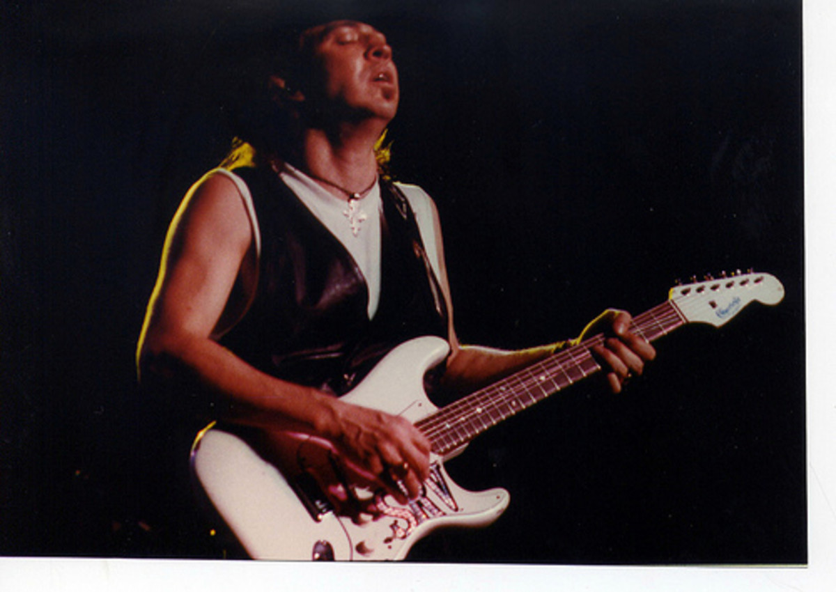 Stevie Ray Vaughan named his favorite Stratocaster 'Number One.'