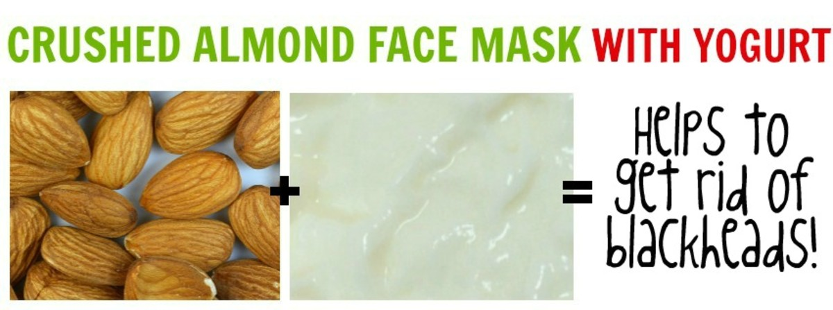 You can either use powdered almonds or soaked and grinded almonds for the blackhead eradicating face mask. Couple with yogurt for best results!