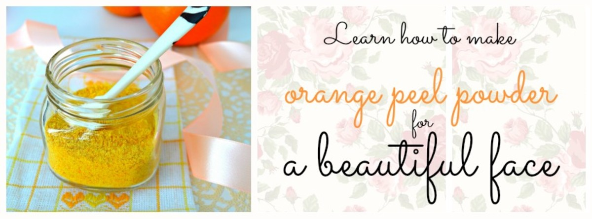 I was shocked to learn how expensive orange peel powder was being sold at a shop in the name of beauty, yet this is something that CAN be made at home. Beauty should be simple and cost-effective. Just like this DIY orange peel powder.