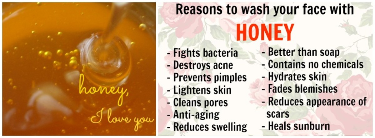 Great homemade face masks with honey!