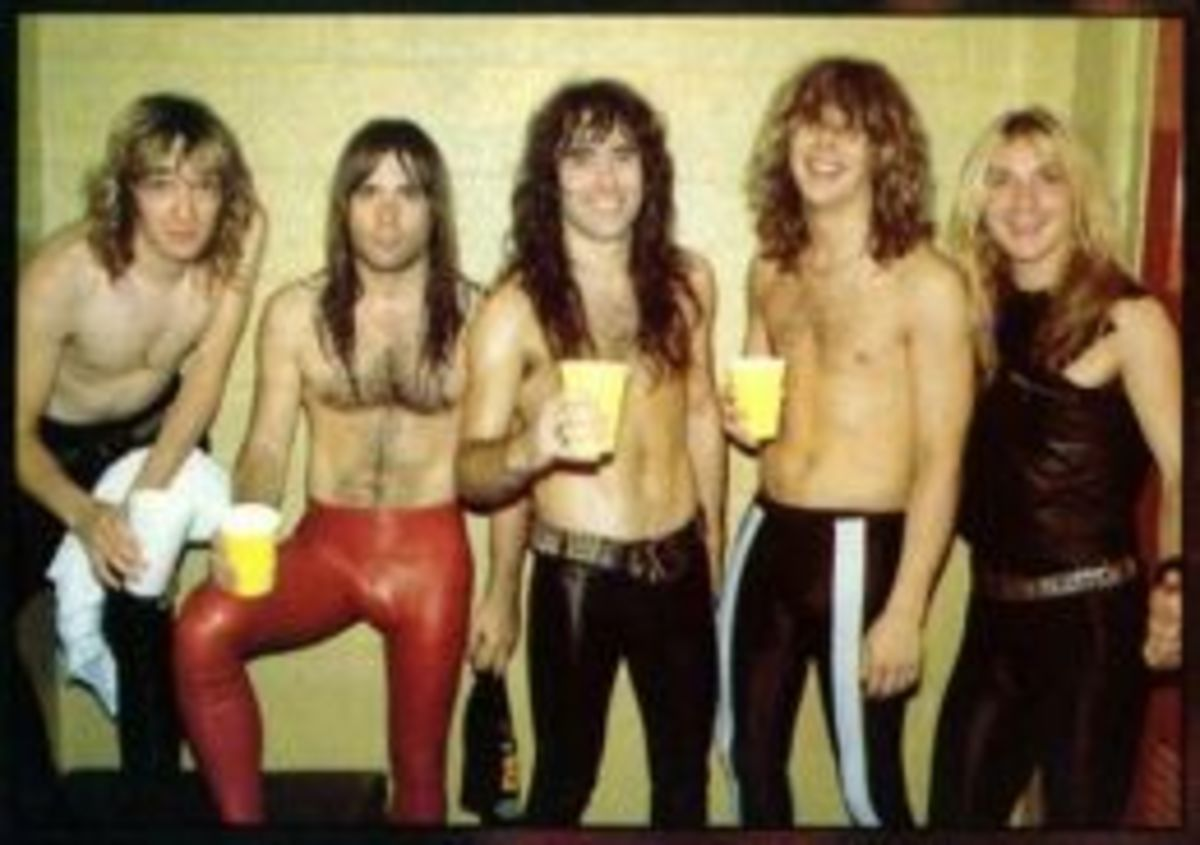 Iron Maiden Rockband of the 1980's