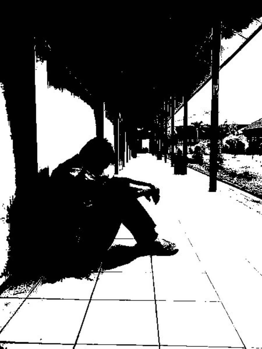 Alone (Edited by Kenneth Agudo)