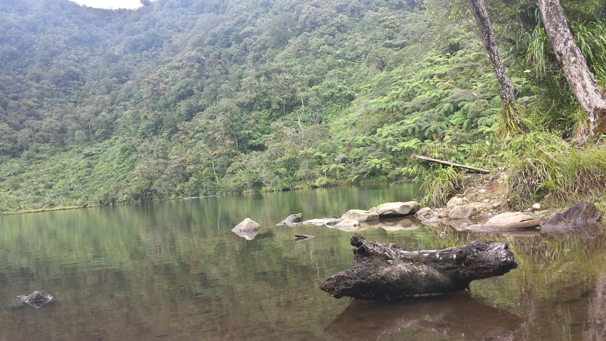 Lake Duminagat, the crater lake of Mt. Malindang is also a potable source of water for the locals