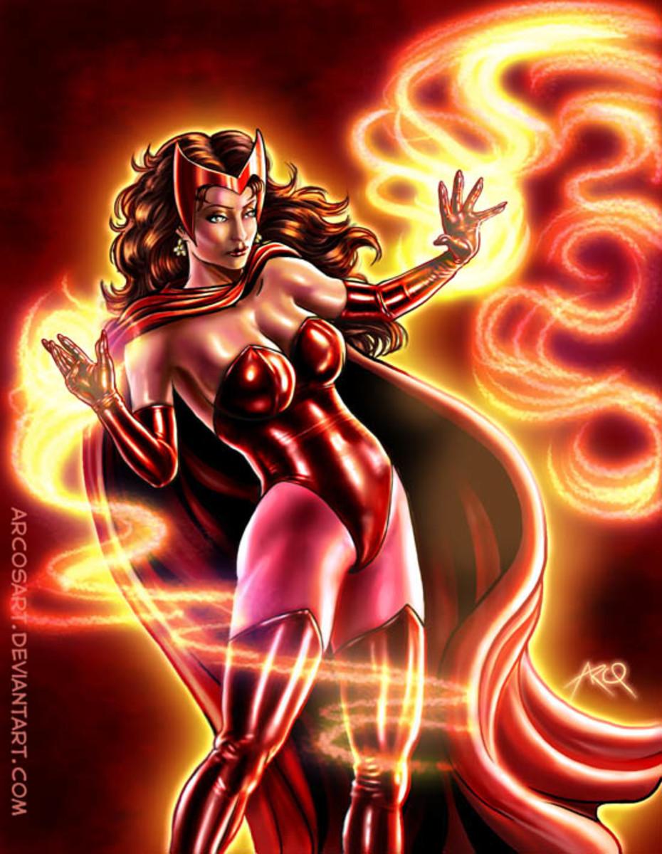 At first an X-Men villain, now she is a respected hero.