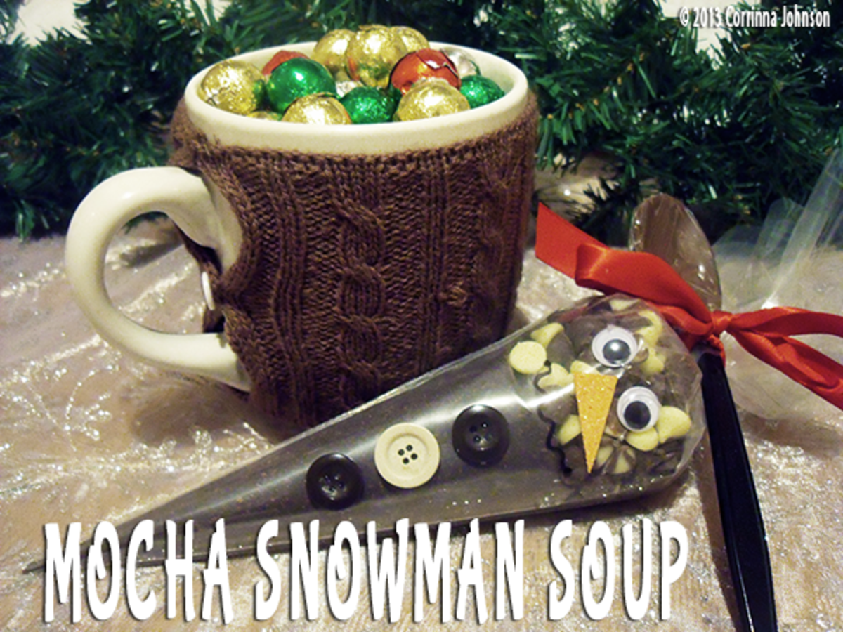 Mocha Melted Snowman Soup Recipe
