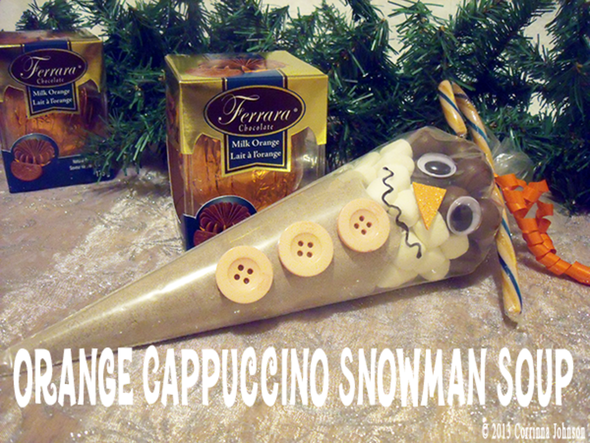 Orange Cappuccino Melted Snowman Soup Recipe