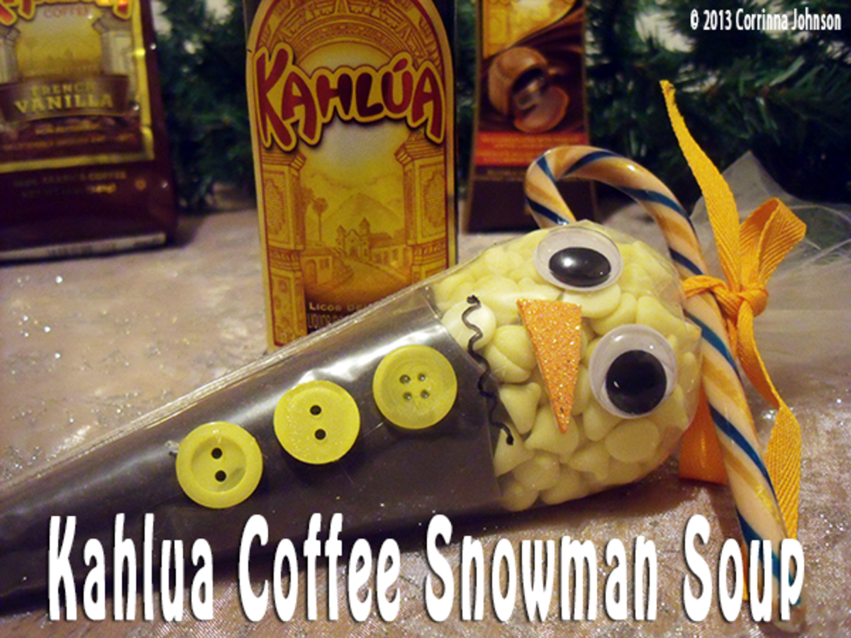 Kahlua Coffee Melted Snowman Soup Recipe