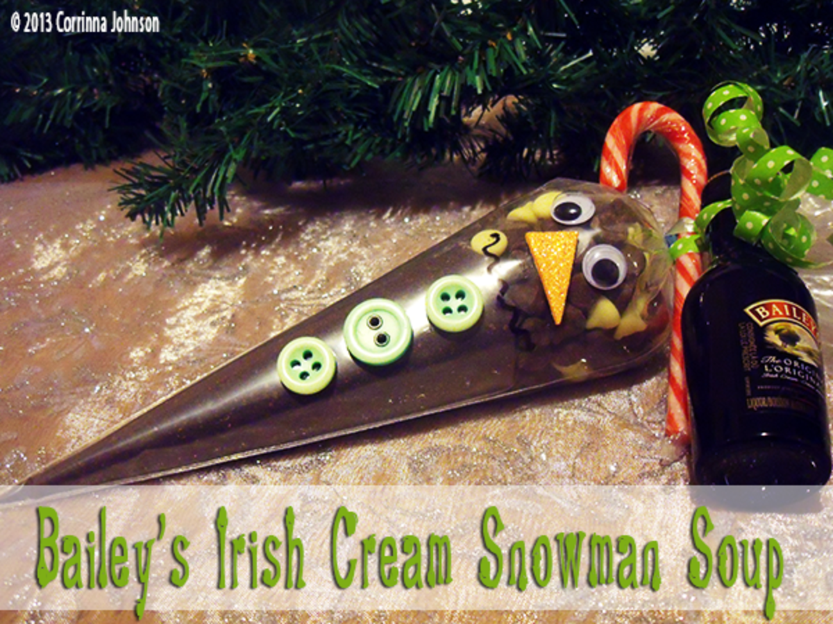 Bailey's Irish Cream Snowman Soup Recipe