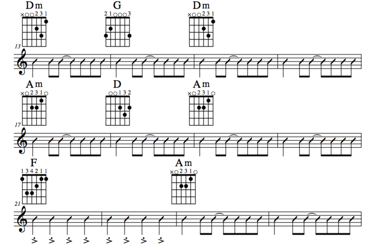 Guitar guitar chords notation : Guitar Lesson • Apache • Jørgen Ingmann • Chords, Note For Note ...