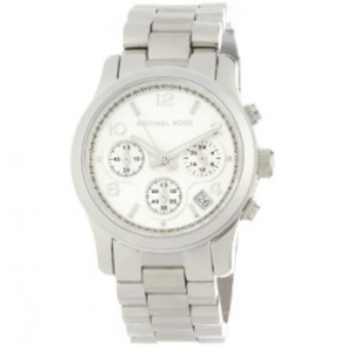 Michael Kors Women's Silver Runway Watch
