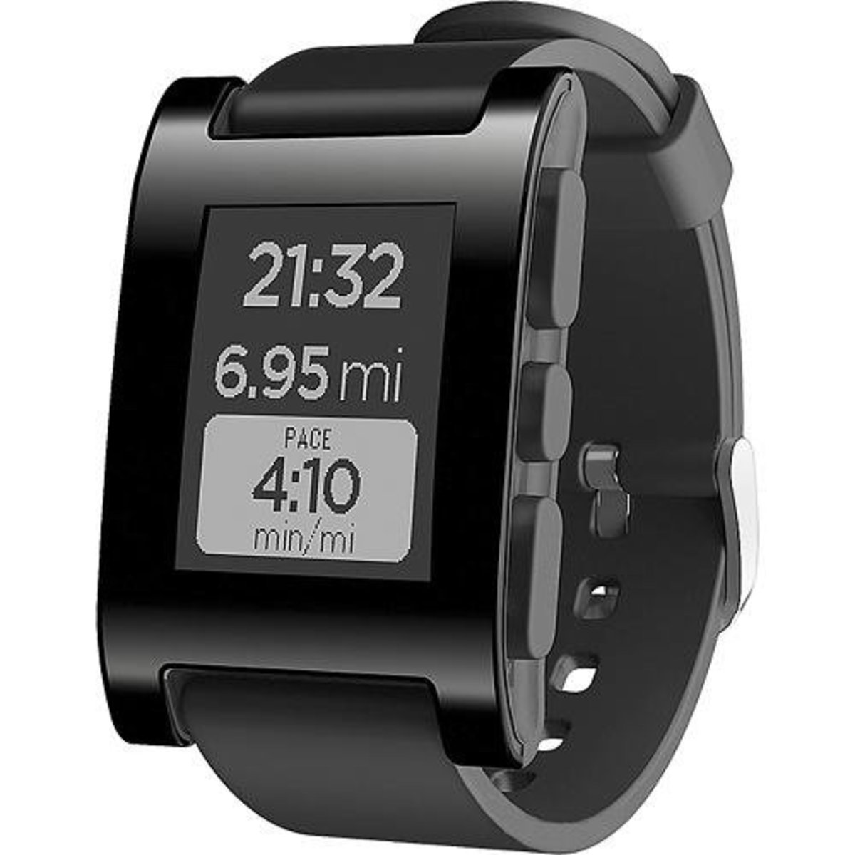 Pebble smartwatch.