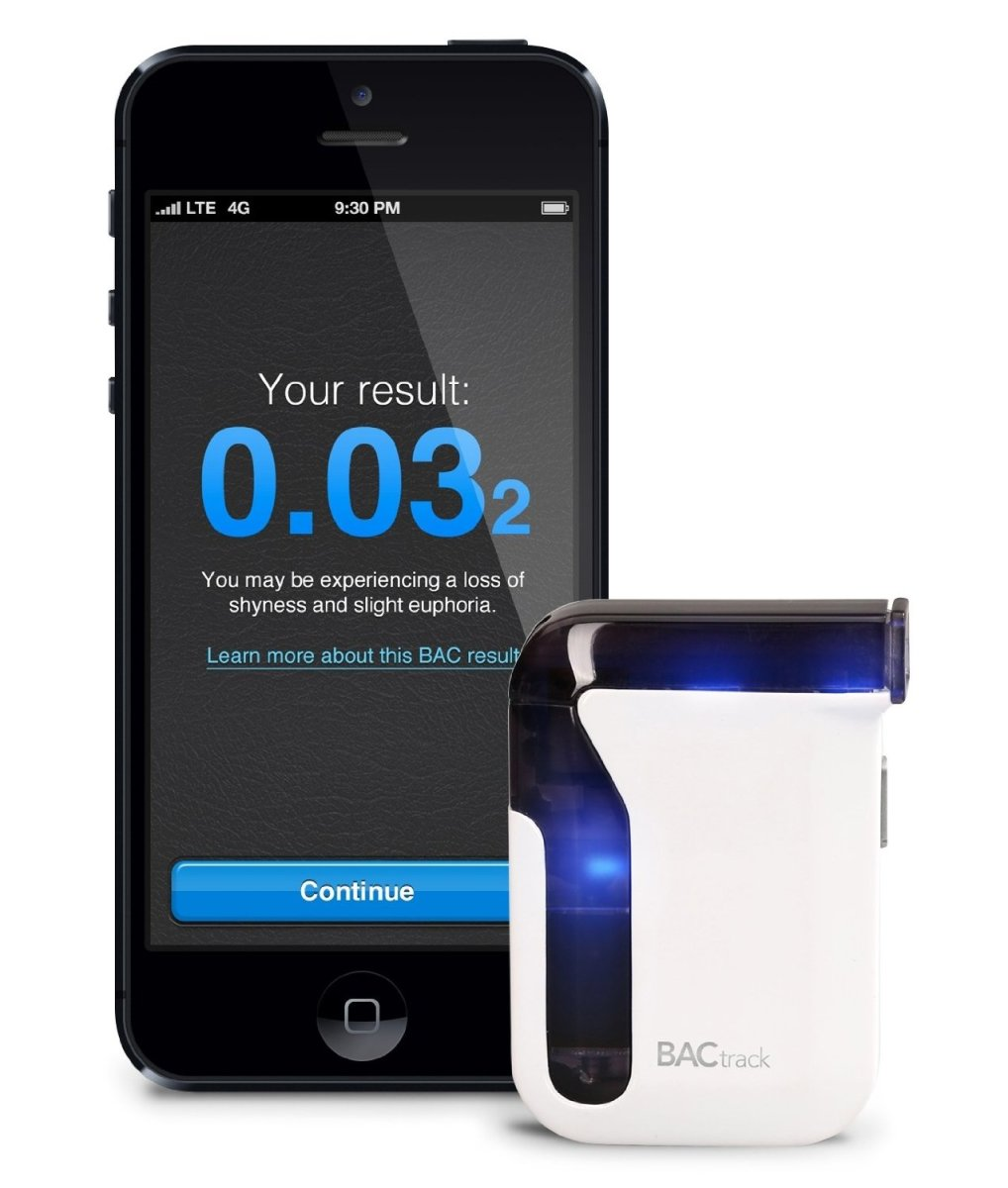 BACtrack BT-M5 Mobile Breathalyzer Smartphone Alcohol Tester for iPhone