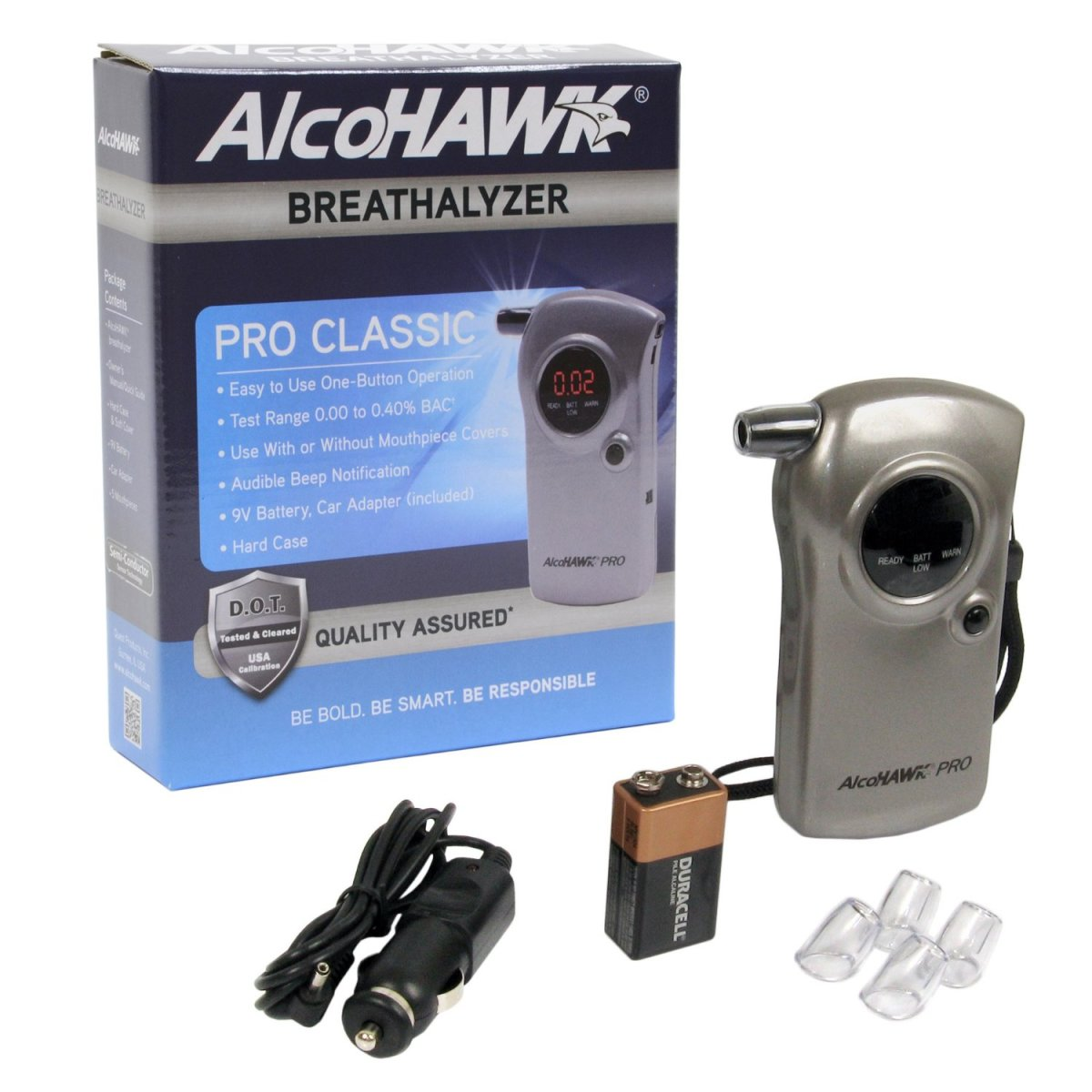NAlcoHawk Pro: Professional Edition Digital Alcohol Detec