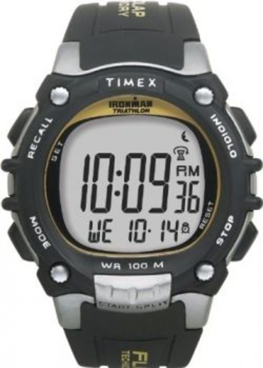 Timex Ironman 100-Lap FlIX System.