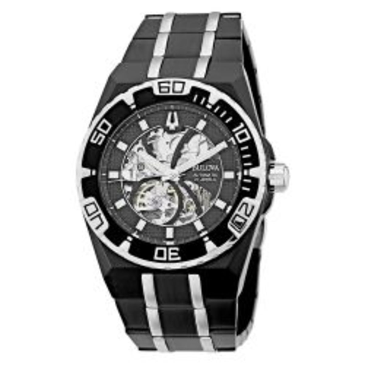 Bulova Marine Star Mechanical Hand-Wind Automatic.