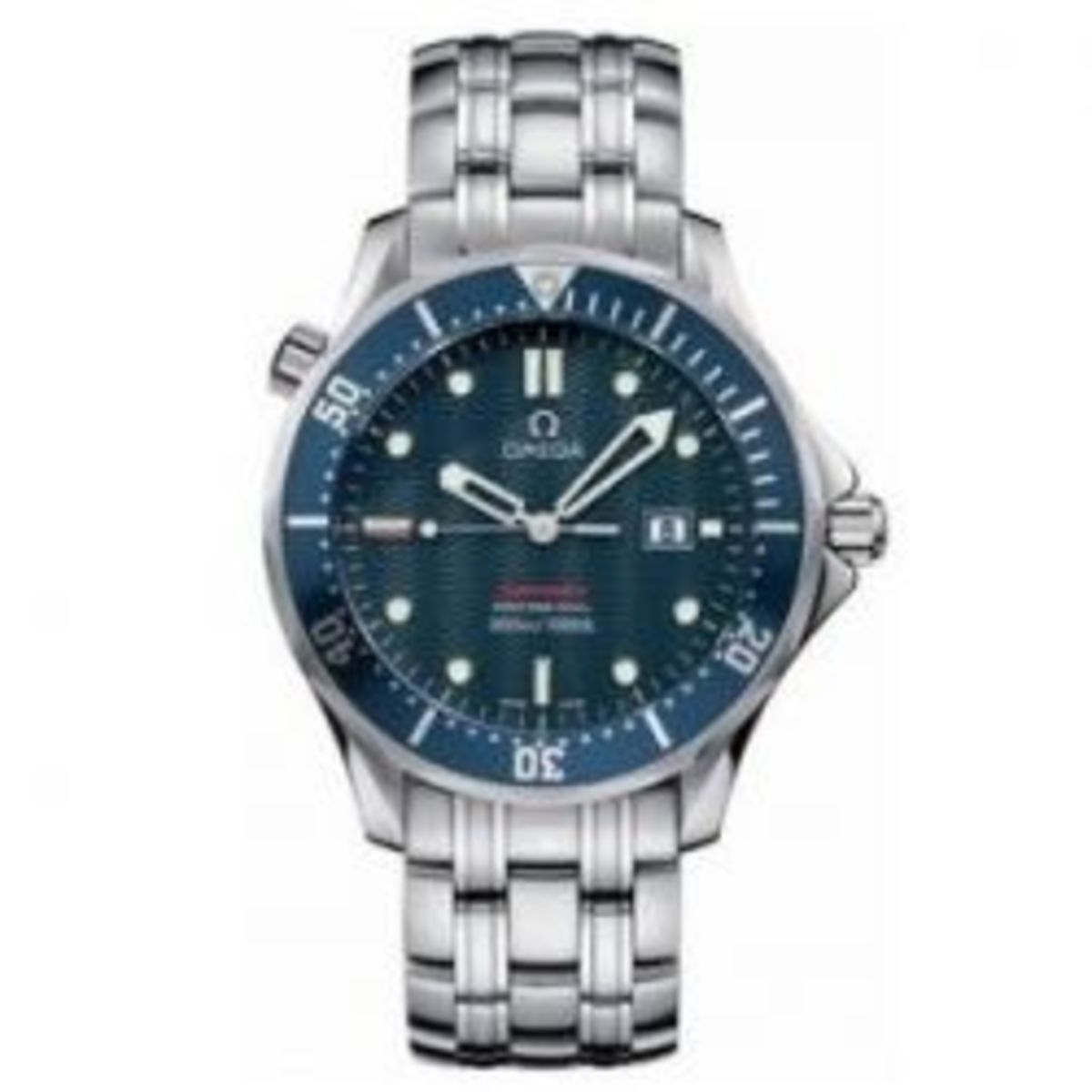 "Omega Seamaster ""James Bond"" Blue Dial."