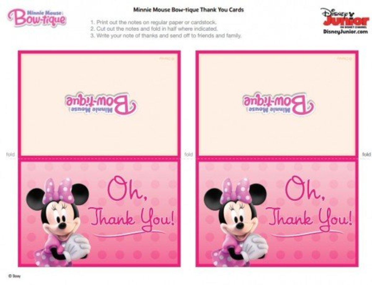 Minnie Mouse Party Ideas and Free Printables | Holidappy