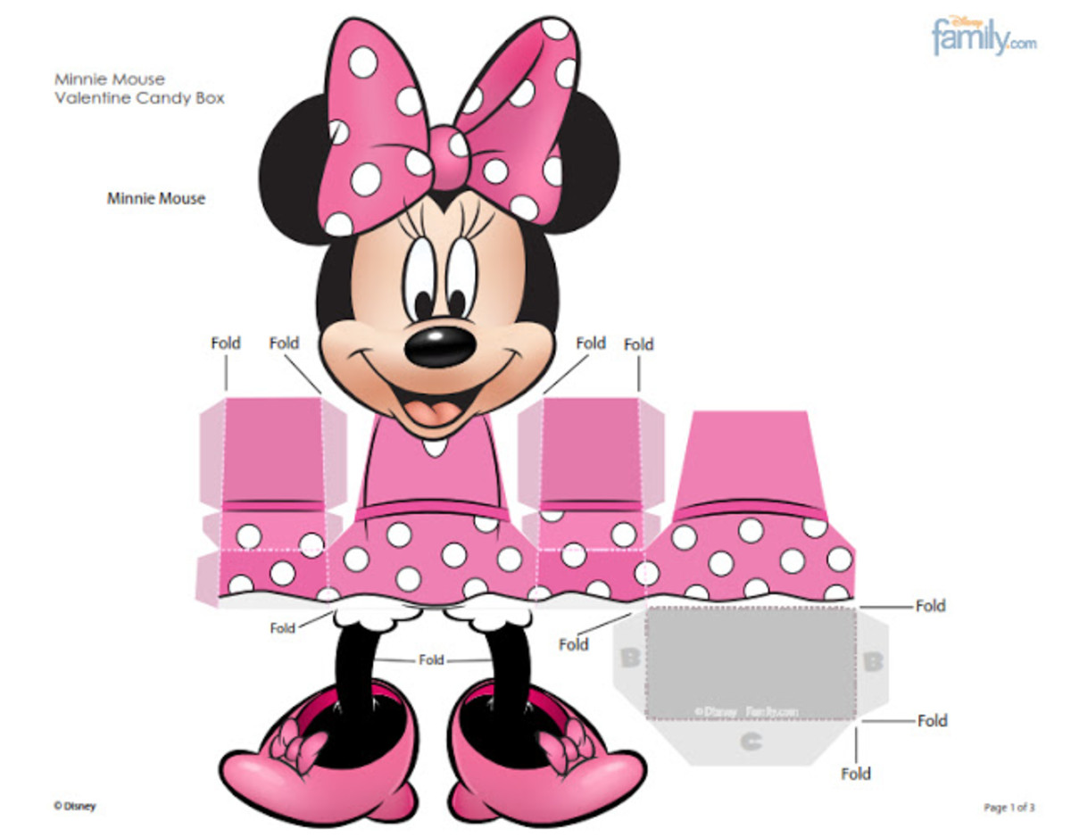image relating to Minnie Mouse Printable named Minnie Mouse Social gathering Designs and Absolutely free Printables Holidappy