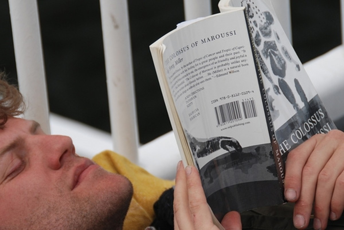 Relaxing and Reading by Let Ideas Compete
