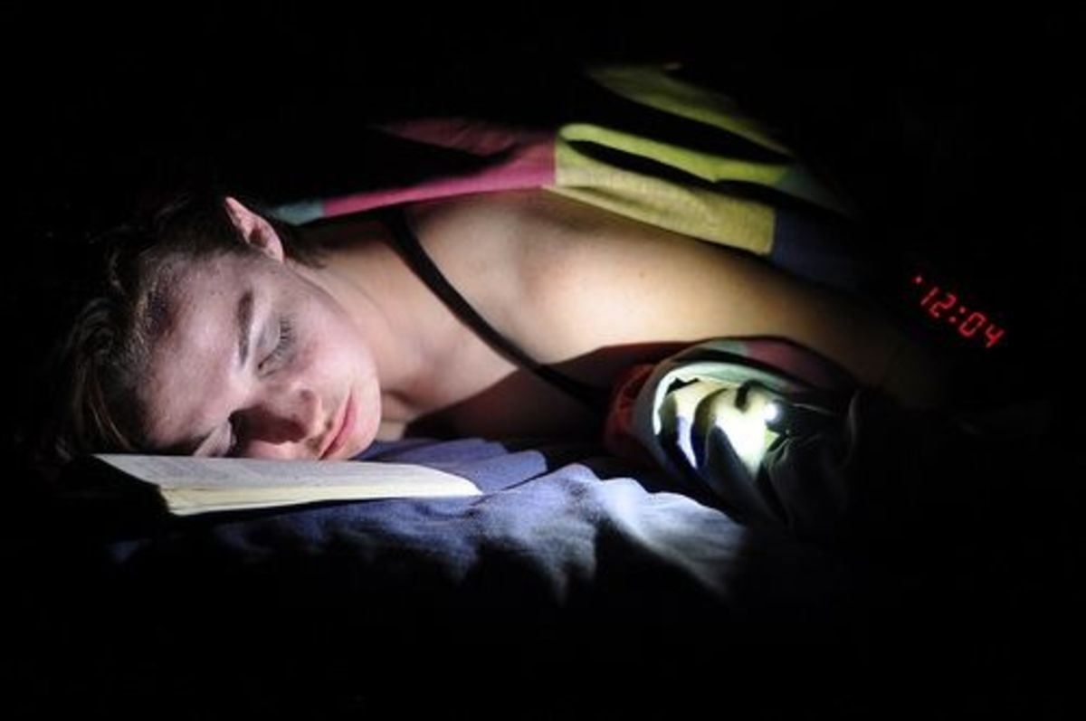 Reading at Midnight by Rexbron!