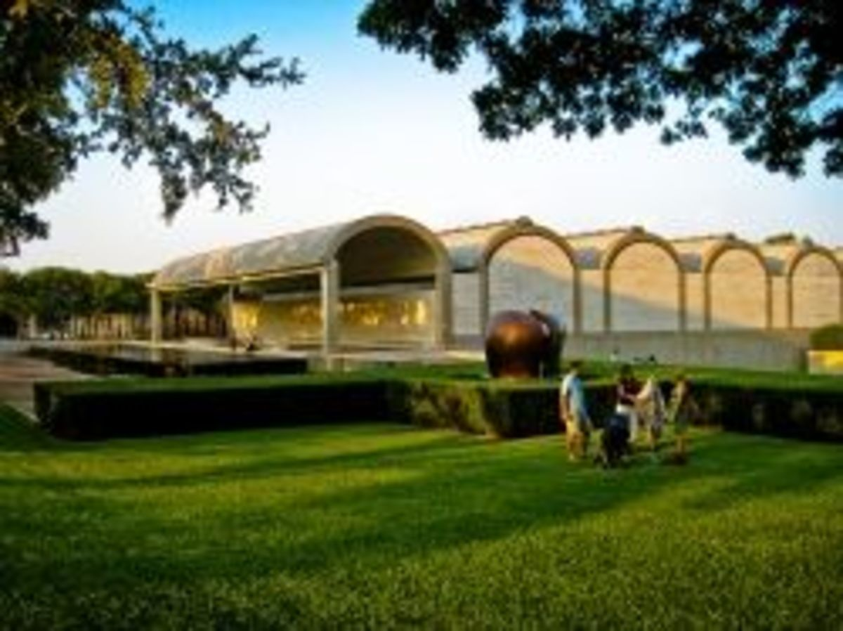 Fort Worth Kimbell Art Museum
