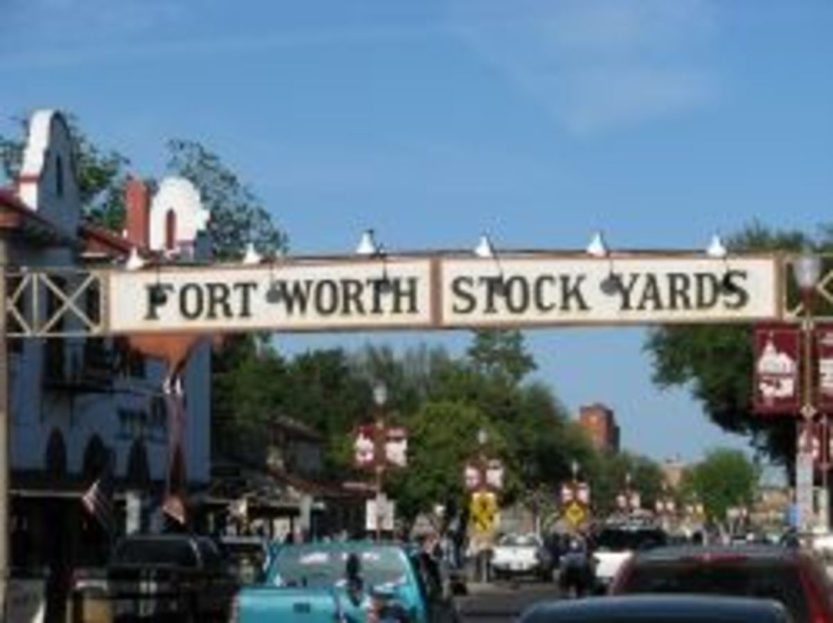 Entrance to Fort Worth Stockyards