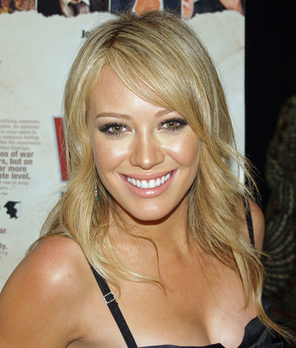 Hilary Duff also used apple cider vinegar on her skin. Source: Flickr (CC-BY-2.0)