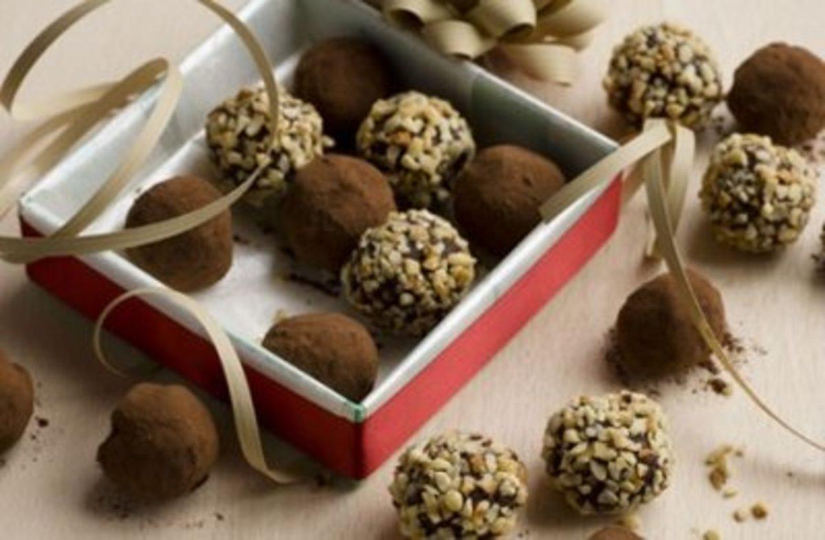 Gordon Ramsay chocolate mint truffles
